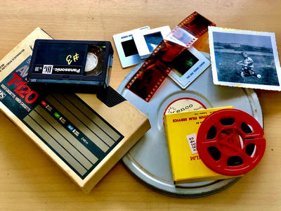 Converting Old Movies and Slides
